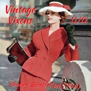 Handbags - THURSDAY 11/12 Vintage Vixens Sign Up Sheet